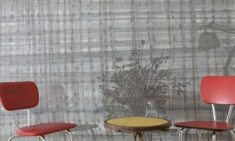 Interieur mit Sühlen 2009, Bleistift/Farbstift a. P., 150 x 280
